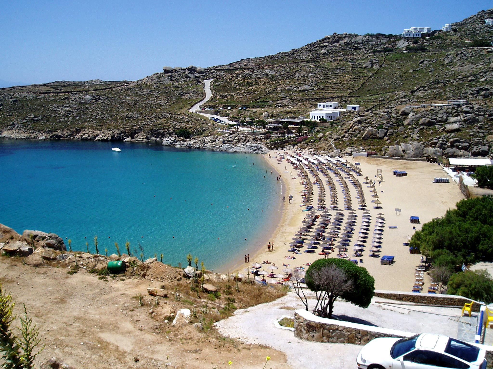 Best Island Beaches For Partying Mykonos St Barts: Beaches Of Mykonos