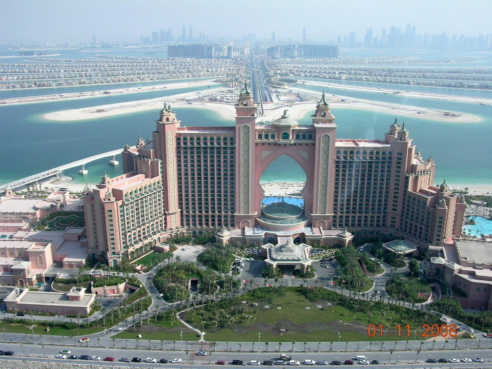 Dubai part2 atlantis the palm moco choco for Biggest hotel in dubai