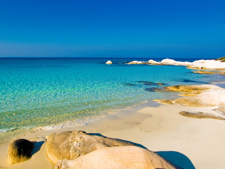 Greece Halkidiki second peninsula portokali beach