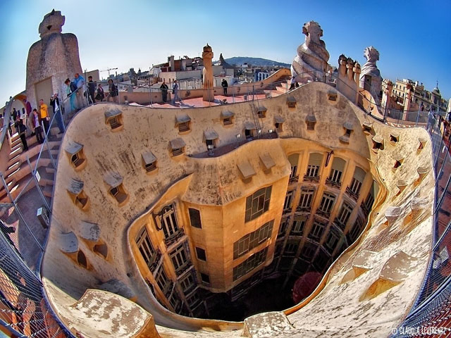 Barcelona part4: La Pedrera  moco-choco