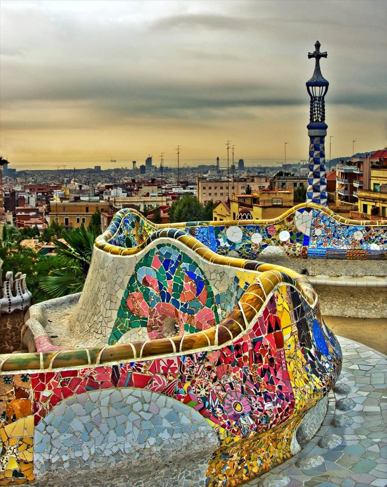 Barcelona part2 gaudi park guell moco choco for Parques de barcelona