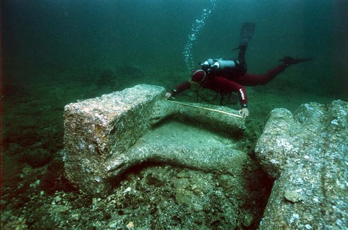 ancien underwater city