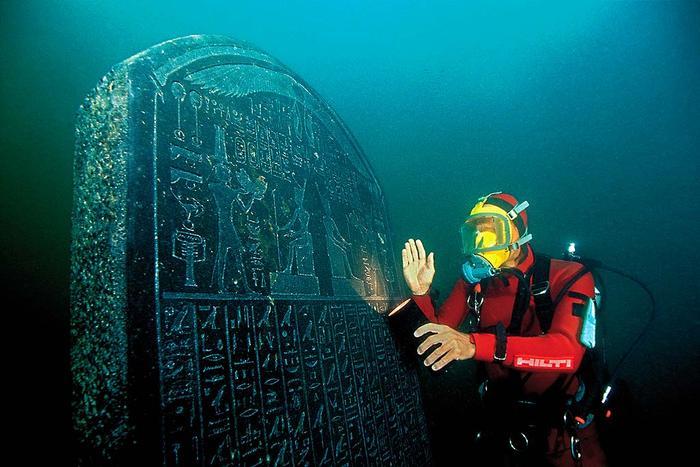 underwater cities egypt
