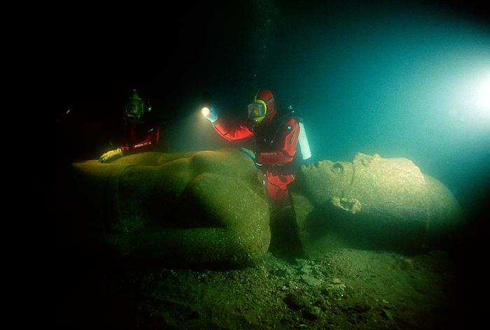 underwater ancient cities