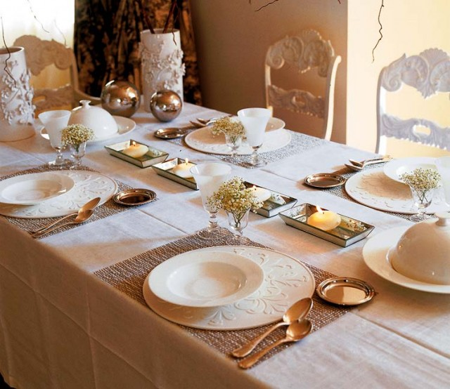 Surprising Gold Table Settings For Christmas Ideas - Best Image . & Surprising Gold Table Settings For Christmas Ideas - Best Image ...