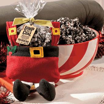 Christmas Coal Popcorn | moco-choco