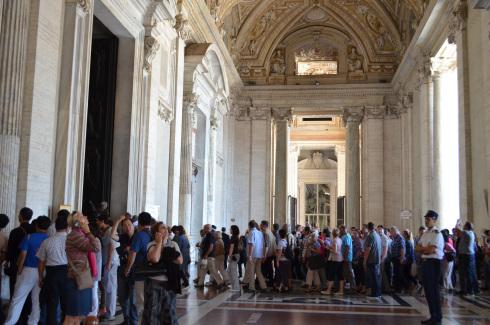 Baldacchino and Dome, St. Peter's Basilica
