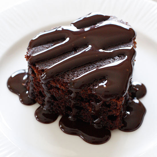 Low Fat Chocolate Cake Made With Yogurt