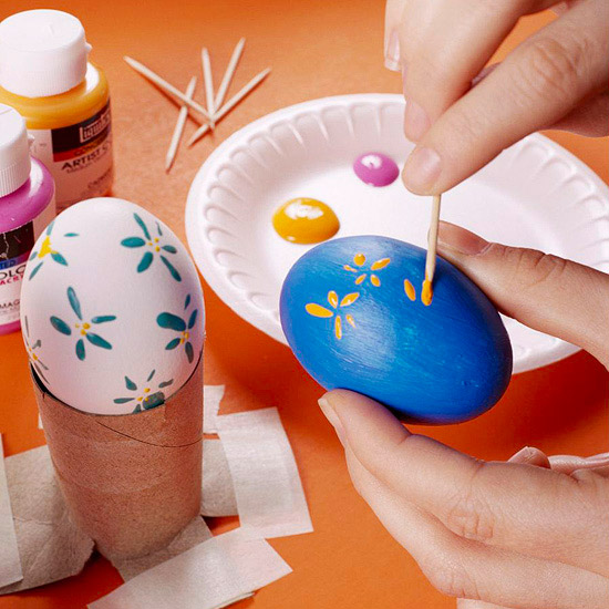 30 easy and creative easter egg decorating ideas moco choco Creative easter egg decorating ideas