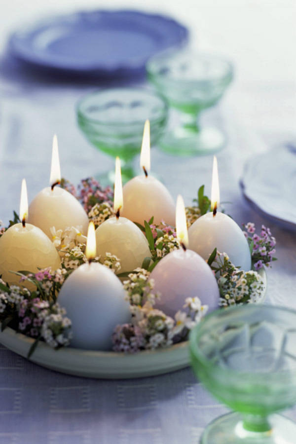Simple Easter Centerpiece Ideas : Easter decorating ideas moco choco