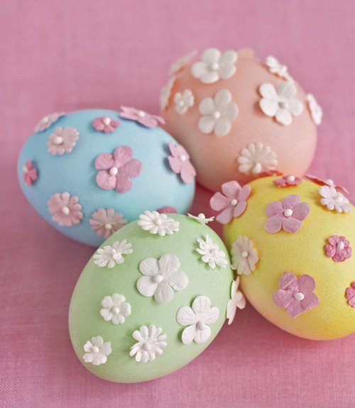 30 easy and creative easter egg decorating ideas moco choco for Easter egg decorating ideas crafts