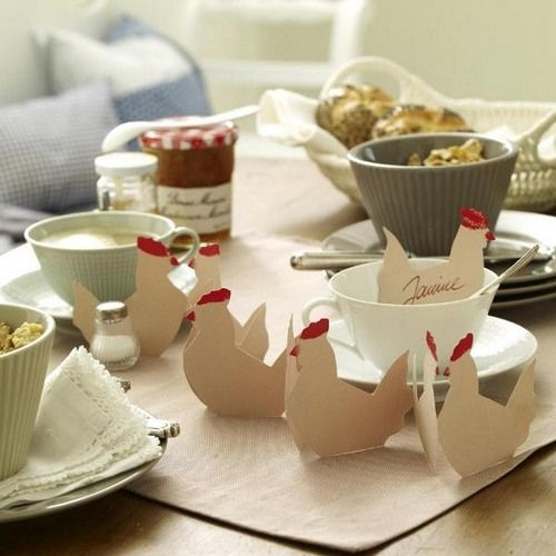 50 easter decorating ideas moco choco - Decoration table paques ...