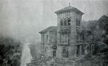 Old photo of Hotel del salto