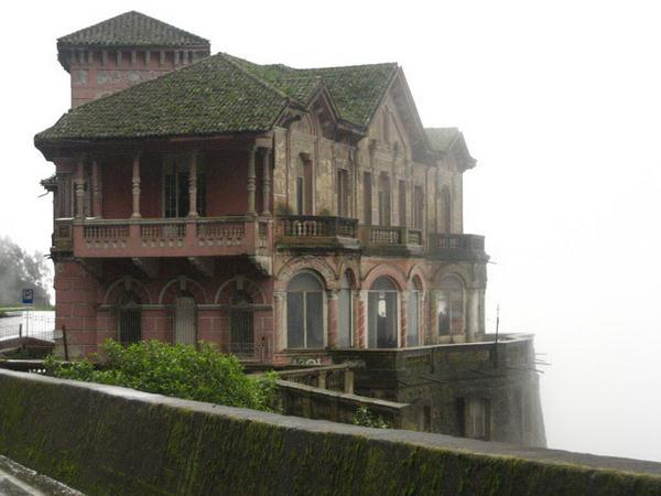 Hotel del salto in Colombia