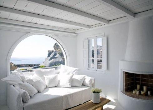 Aenaon villas interior santorini greece 8