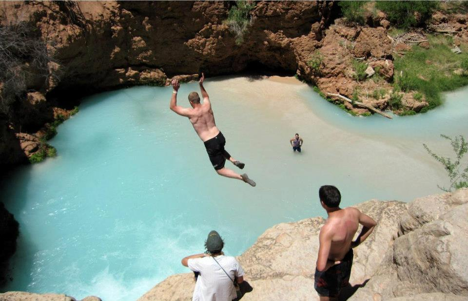 10 most beautiful natural swimming pools in the world for Natural pools arizona