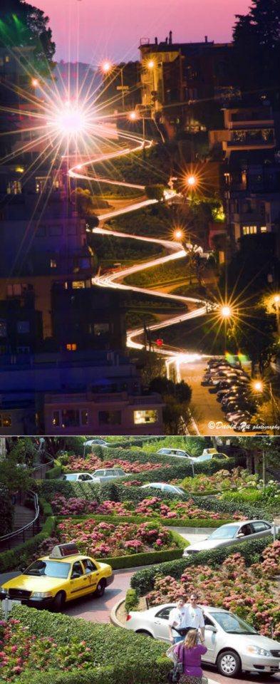 most unusual streets  San Francisco