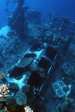 """Russian Wreck"" shipwreck Off Zabagad Island, South Egyptian Red Sea 2"