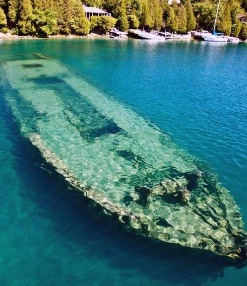 RMS Rhone shipwreck, Salt Island, British Virgin Islands