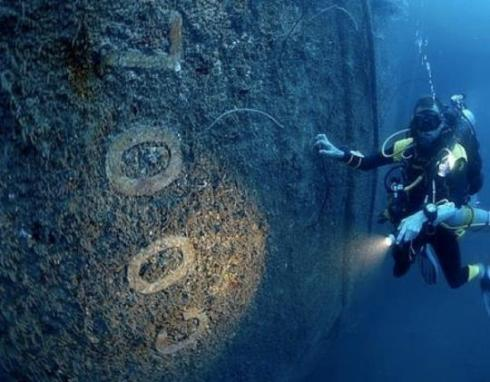SS President Coolidge shipwreck, Vanuatu, South Pacific