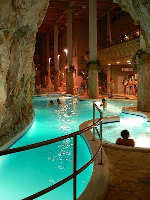 Thermal Baths Inside A Cave Miskolc Tapolca Hungary
