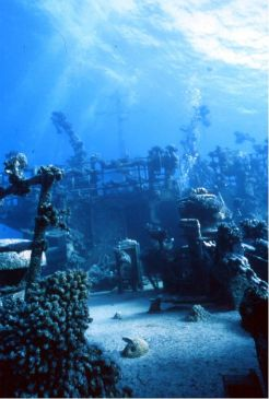 "important shipwrecks ""Russian Wreck"" shipwreck Off Zabagad Island, South Egyptian Red Sea"