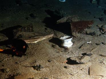important shipwrecks-debris of titanic