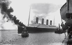 important shipwrecks-launch of titanic