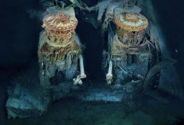 important shipwrecks-engines of titanic