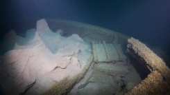L. R. Doty important shipwreck-Tons of mud on the stern