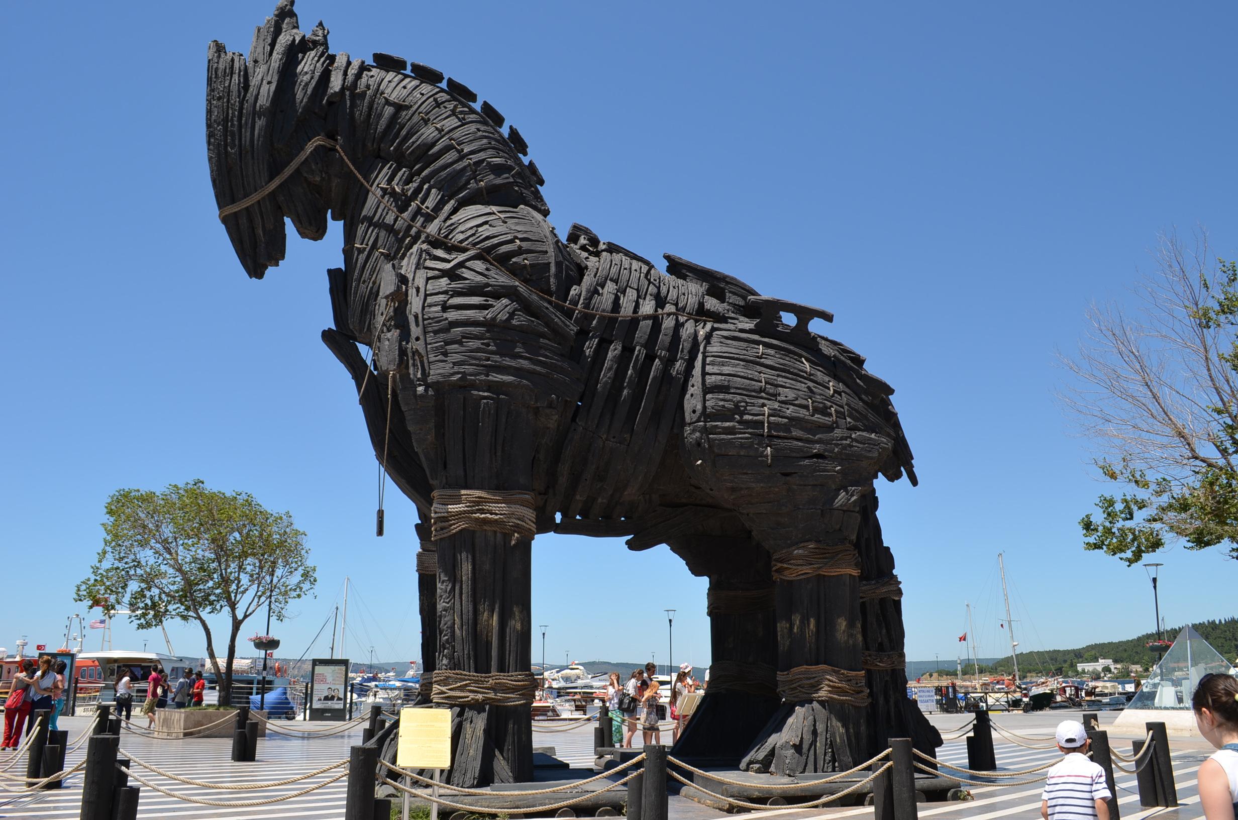 Canakkale Turkey  City new picture : The Movie famous Trojan Horse Canakkale, Turkey | moco choco