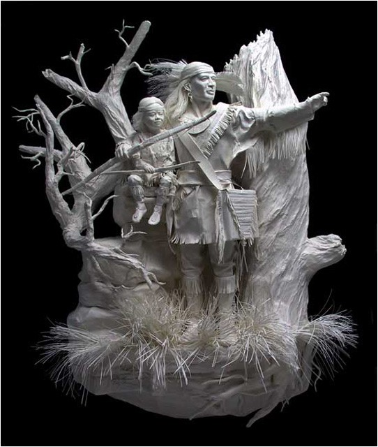 Amazing Paper Sculptures Art Moco Choco