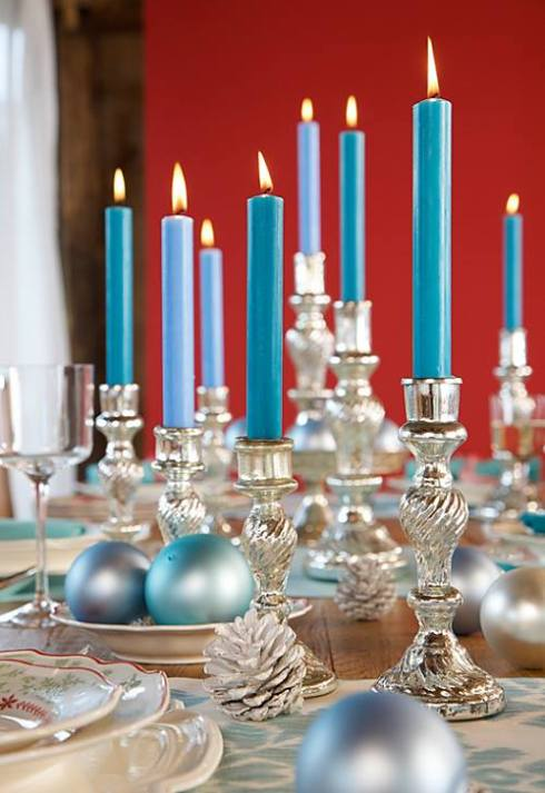 Christmas table decorations 2014 31