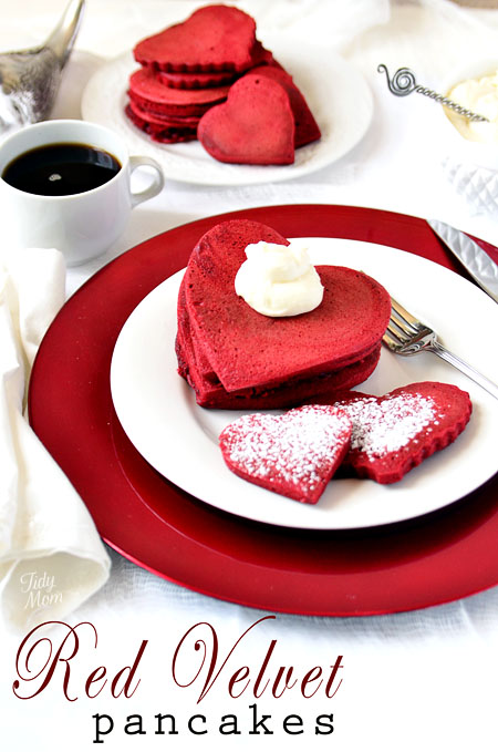 pretty red velvet recipe for the VDay