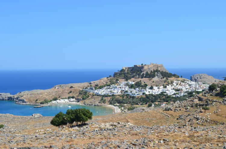 Lindos, best places to visit in Rhodes