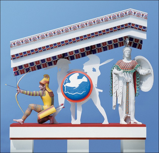 True Colors Of Ancient Greek And Roman Statues Moco Choco