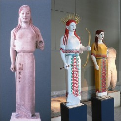 the original colors of ancient Greek and Roman sculptures 17