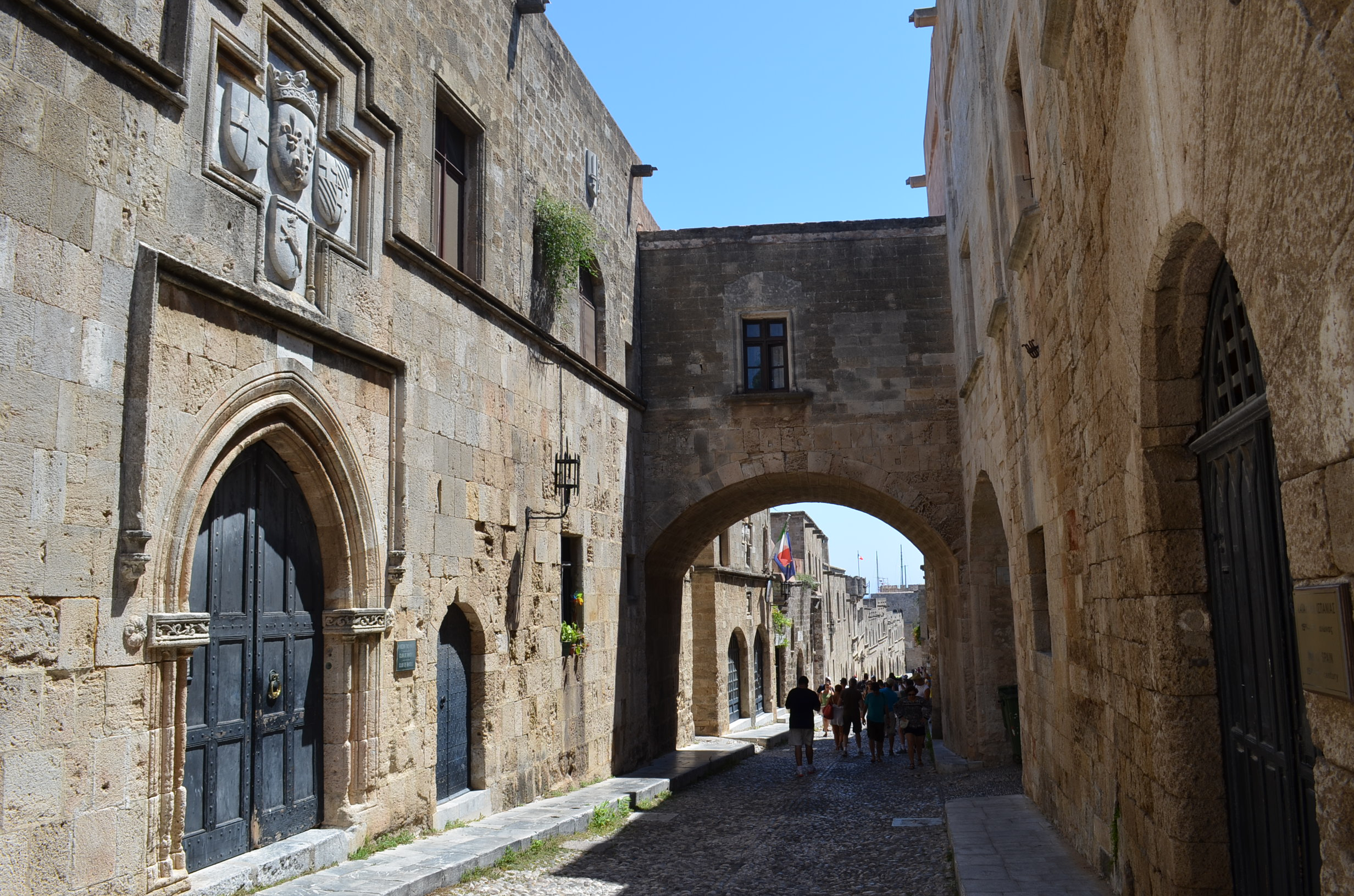 The Medieval City Of Rhodes Interior 9 Jpg