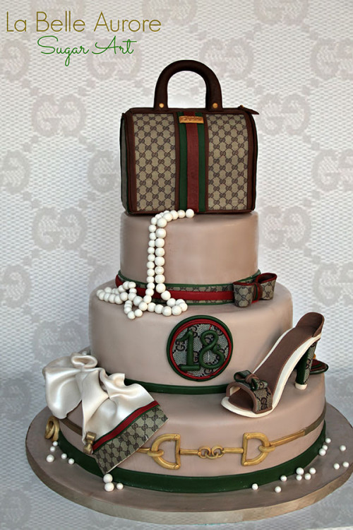 Food Art: Luxury Cakes and Cookies for Fashionistas | moco ...