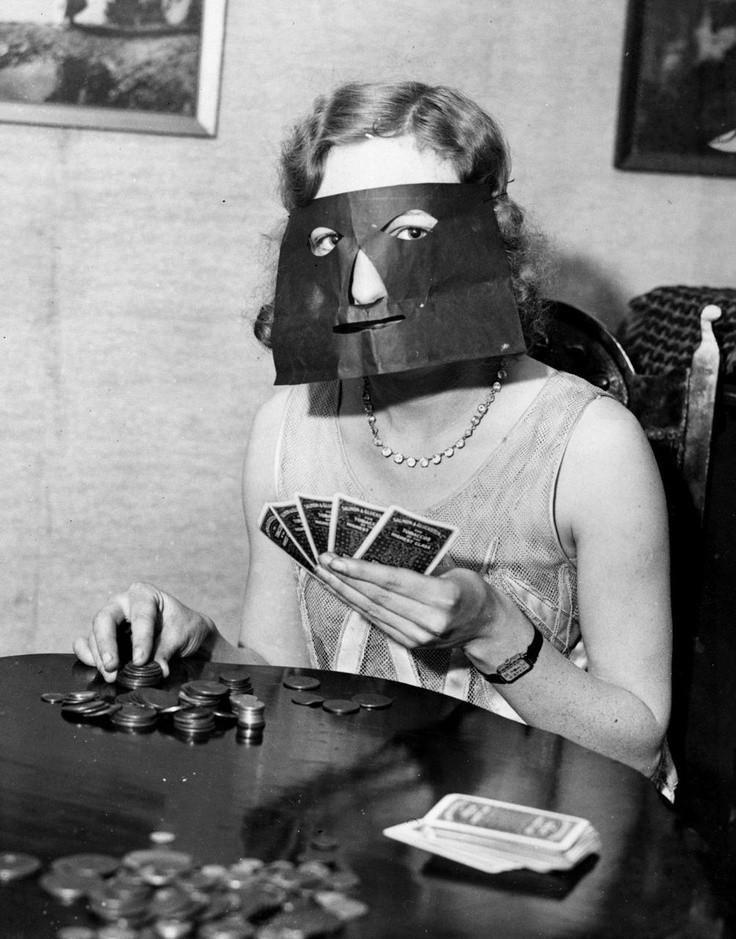 Poker masker