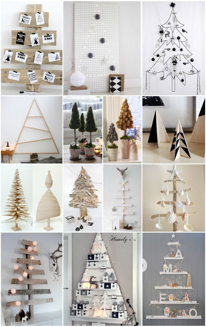 40 DIY Creative And Inspiring Christmas Trees Moco Choco