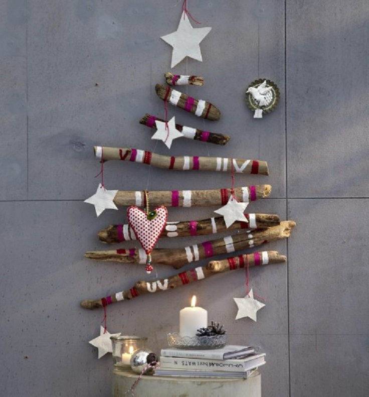 Unconventional Christmas Trees 40 fabulous wooden christmas trees - christmas celebrations