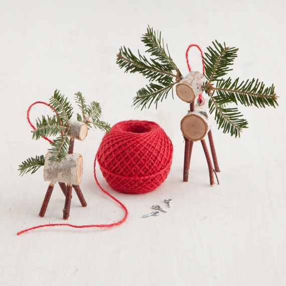diy christmas ornament, Reindeer