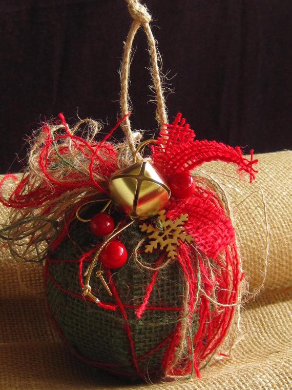 Copper Christmas Tree Ornaments