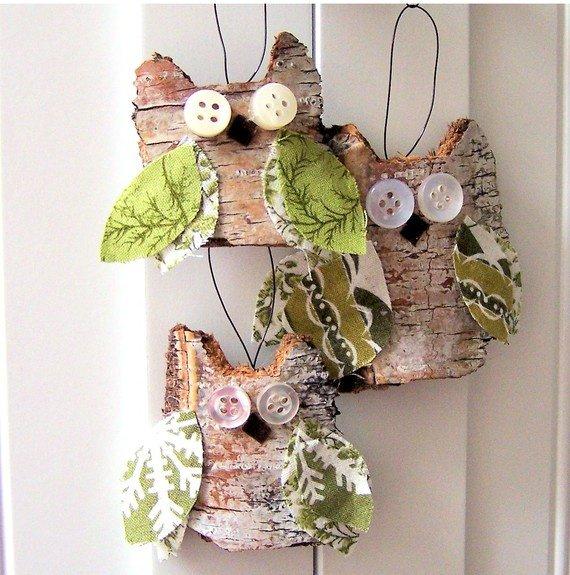 Christmas Decorations Making: 30 DIY Rustic Christmas Ornaments Ideas