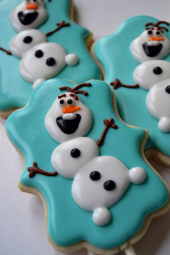 Olaf the Snowman Treats for Christmas | moco-choco