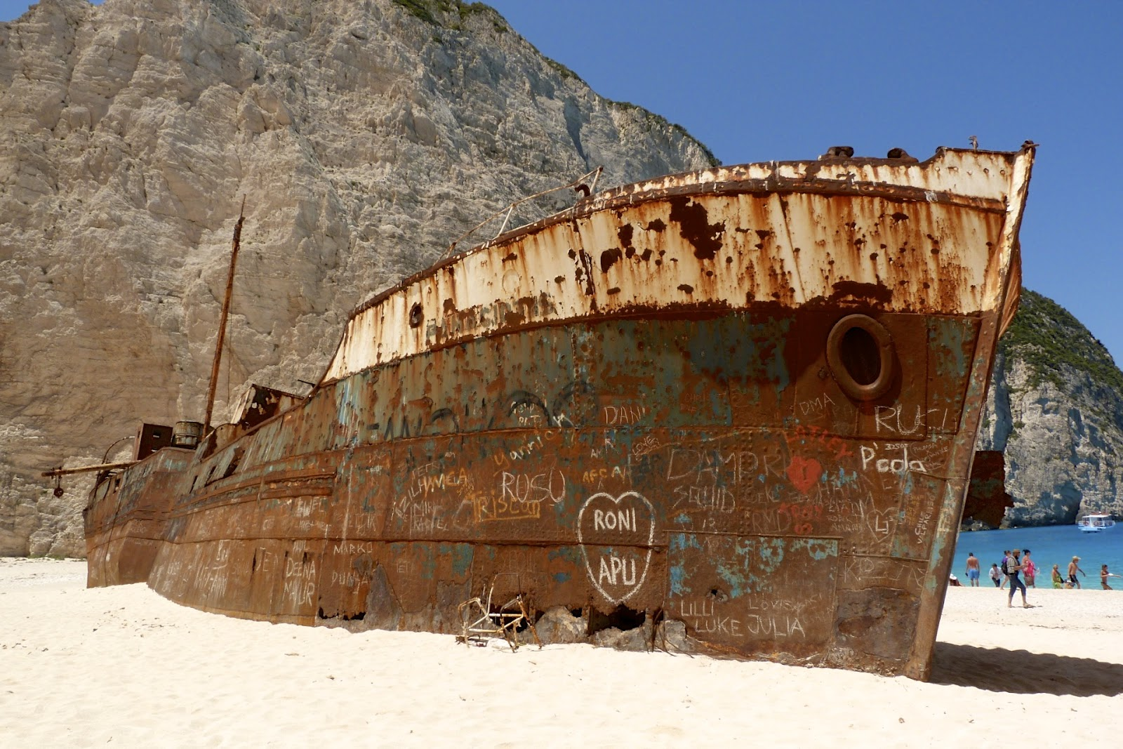 Navagio Shipwreck Beach How The Shipwreck Became A