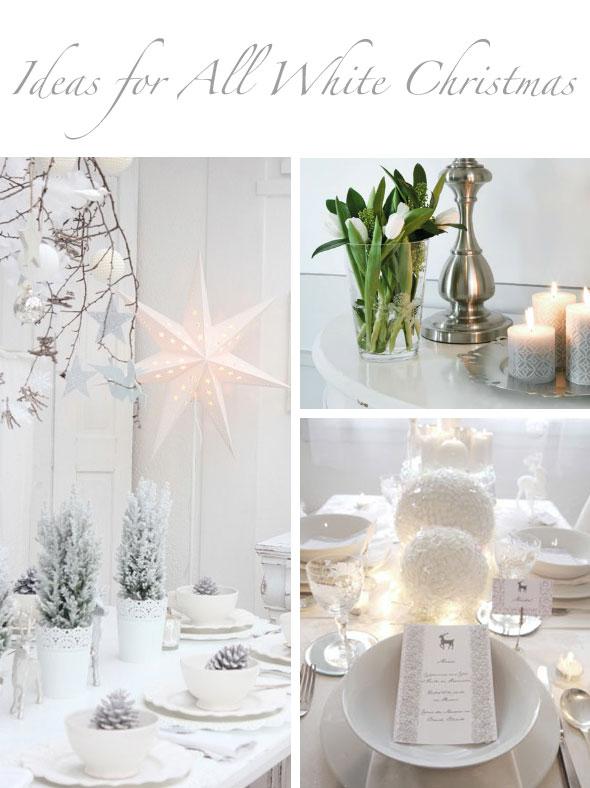 40 awesome and inspiring white christmas decorating ideas for White christmas decorations ideas