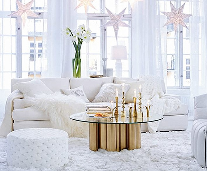 Decorating Ideas > 40 Awesome And Inspiring White Christmas Decorating Ideas  ~ 072304_Christmas Decoration Ideas White