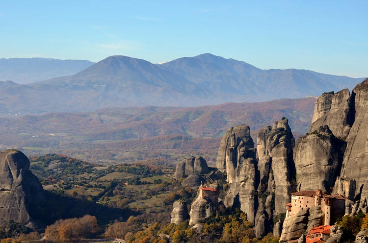The most impressive monasteries in Thessaly